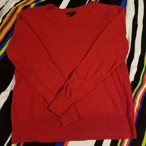 Red Worthington Sweater